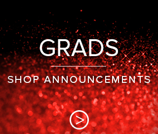 Grads, click to shop now for graduation announcements.